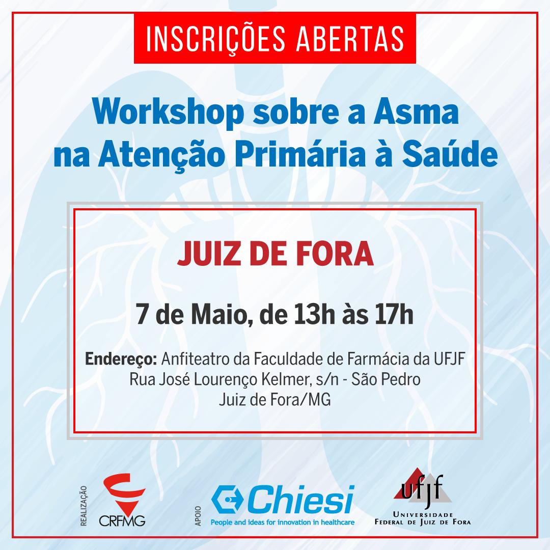 Workshop sobre Asma na Atenção primária à saúde em Juiz de Fora